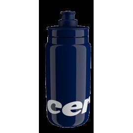 Bidon Elite FLy Team Cervelo 550ml azul marino 2021