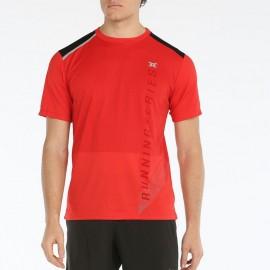Camiseta manga corta John Smith Aoyak rojo negro hombre