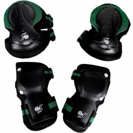 Set protecciones patinaje KRF SR. Retro unisex
