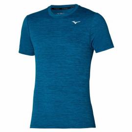 Camiseta training Mizuno Impulse Core azul hombre