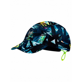Gorra Buff Pack Run Ipe azul multicolor