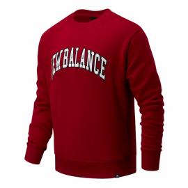 Sudadera New Balance Athletics Varsity Pack burdeos hombre