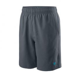 "Pantalón tenis pádel Wilson B Team 7"" gris junior"