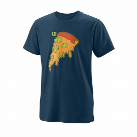 Camiseta manga corta Wilson Slice Tech azul junior