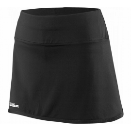 """Falda tenis y pádel Wilson Team 12.5"""" negro mujer"""