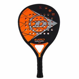 Pala de pádel Dunlop Rapid Power 2.0 negra naranja