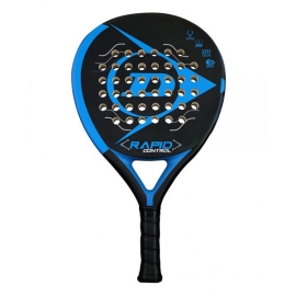 Pala de pádel Dunlop Rapid Control negra azul
