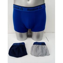 Boxer Reebok Buddy pack 3 gris/marino/azulón hombre