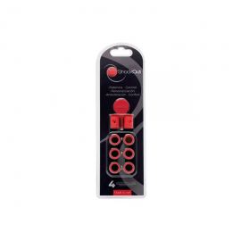 Antivibrador de pádel Shockout rojo