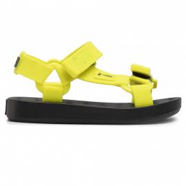 Sandalias Verano Rider Free Papete negro amarillo infantil