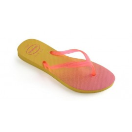 Chanclas Havaianas Fantasia amarillo rosa mujer