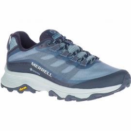 Zapatillas trekking Merrell Moab Speed GTX azul mujer