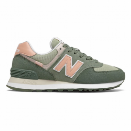 Zapatillas New Balance WL574SZ2 verde rosa mujer