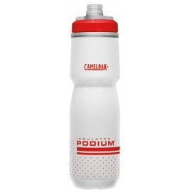 Bidon térmico Camelbak Podium Chill red-white 0.7 L