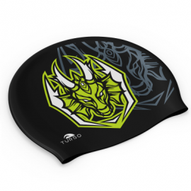 "Gorro natación Turbo ""Suede"" Dragon Game negro"