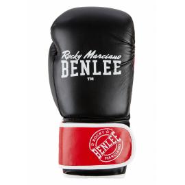 Guantes de boxeo Benlee Carlos negro rojo blanco