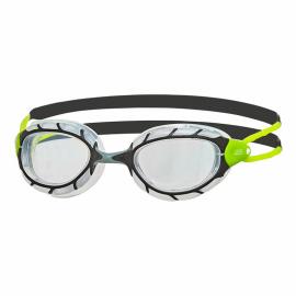 Gafas natación Zoogs Predator negro gris lima
