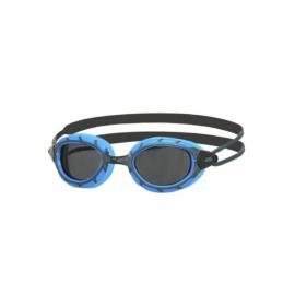 Gafas natación Zoggs Predator azul negro lente ahumada