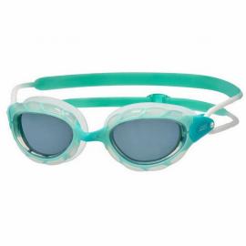 Gafas natación Zoggs Predator lady verde agua lente ahumada