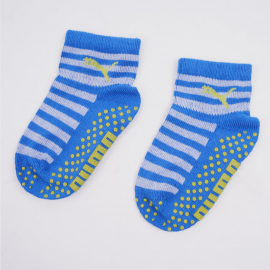 Calcetines Puma Baby Sock ABS 2pk azul lima infantil