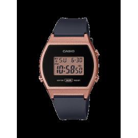 Reloj Casio Digital LW-204-1AEF negro naranja