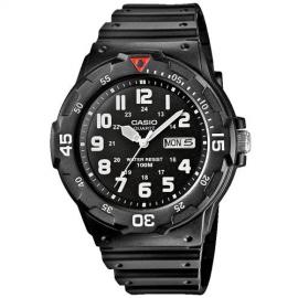 Reloj Casio Analógico MRW-200H-1BVEG negro