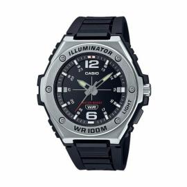Reloj Casio Analógico MWA-100H-1AVEF negro gris