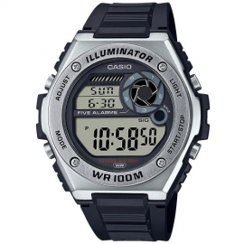 Reloj Casio Digital MWD-100H-1AVEF negro gris