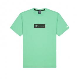 Camiseta manga corta Champion 215789 verde hombre