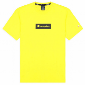 Camiseta manga corta Champion 215789 amarillo hombre