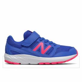 Zapatillas New Balance YT570BP2 azul/rosa junior