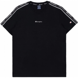 Camiseta Champion Cuello caja 214229 negro hombre