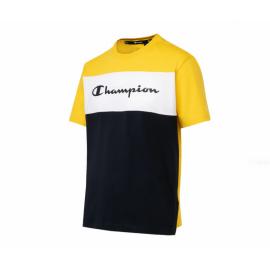 Camiseta manga corta Champion 216197 amarillo blanco azul