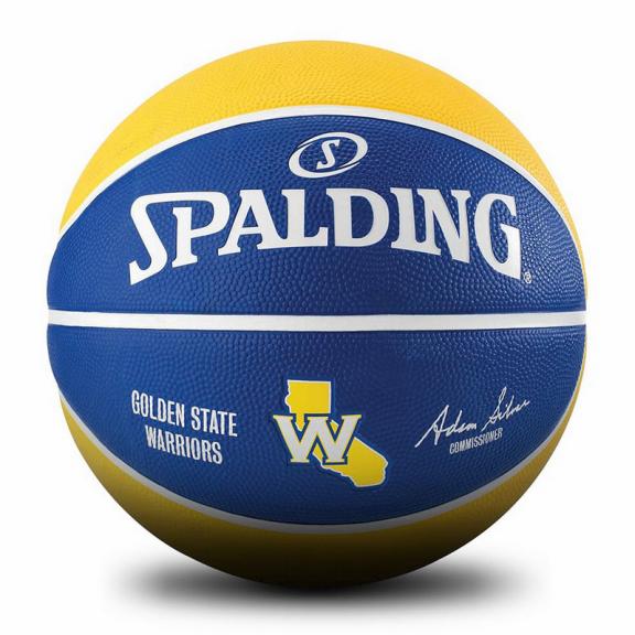 Balon Spalding Nba Team Golden State multicolor