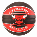 Balon Spalding Nba Team Chicago Bulls  multicolor