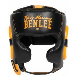 Casco boxeo Benlee Brockton negro amarillo hombre