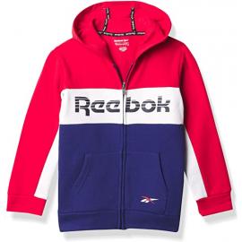 Sudadera Reebok Tod Intl Zip up rojo/negro niño