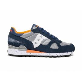 Zapatillas Saucony Shadow Original azul gris naranja hombre