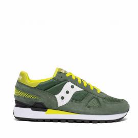 Zapatillas Saucony Shadow Original verde blanco amarillo