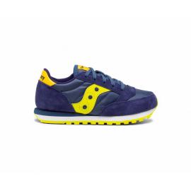 Zapatillas Saucony Jazz Original azul amarillo junior