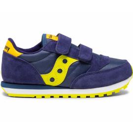 Zapatillas Saucony Jazz Double HL azul amarillo junior