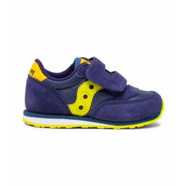 Zapatillas Saucony Baby Jazz Original azul amarillo infantil