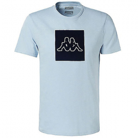 Camiseta Kappa Ibagni celeste hombre