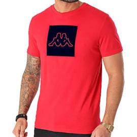 Camiseta Kappa Ibagni rojo hombre