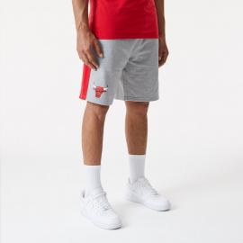 Pantalón corto New Era NBA Side Panel Bulls gris