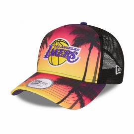 Gorra New Era Summer City Trucker Lakers