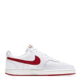 Zapatillas Nike Court Vision LO blanco rojo hombre