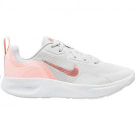 Zapatillas Nike Wearallday gris rosa mujer