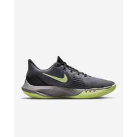 Zapatillas baloncesto Nike Precicion 5 gris verde unisex