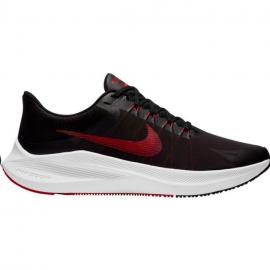 Zapatillas running Nike Winflo 8 negro rojo hombre